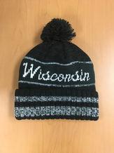 Woodchucks Black Pom Hat
